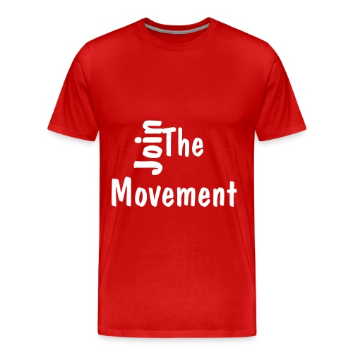 Join the Movement T-Shirt - Men's Premium T-Shirt