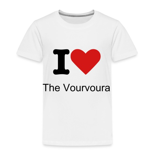 Vourvoura Toddler Tee - Toddler Premium T-Shirt