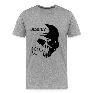GREY SR SUPREME T - Men's Premium T-Shirt