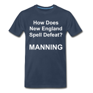 T-Shirts ~ Men's Premium T-Shirt ~ New England Spelling T-Shirt (Navy)