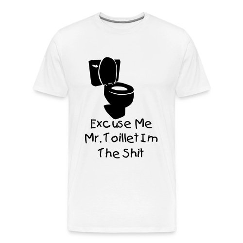 Excuse me - Men's Premium T-Shirt