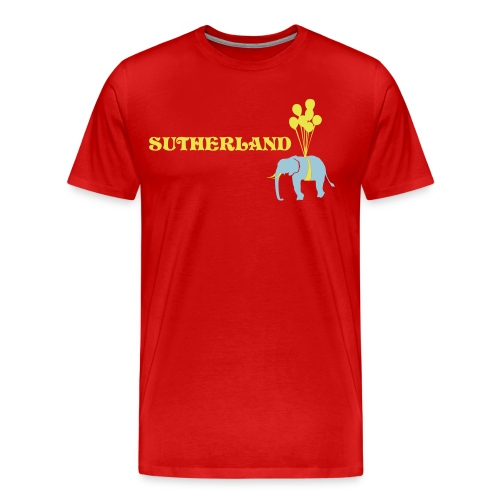 Sutherland's The Elephant - Men's Premium T-Shirt