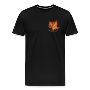 Canada Souvenir Men's T-Shirts Canadian Maple Leaf Art - Men's Premium T-Shirt