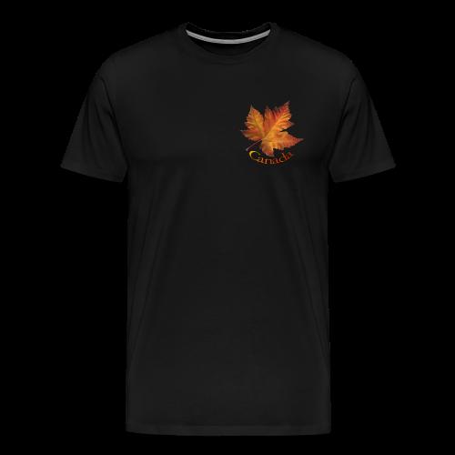 Canada Souvenir Men's T-Shirts Canadian Maple Leaf Art - Men's Premium T-Shirt