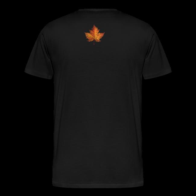 Canada Souvenir Men's T-Shirts Canadian Maple Leaf Art