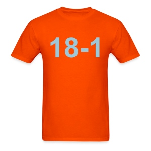18-1 T-Shirt (Dolphins Colors) - Men's T-Shirt