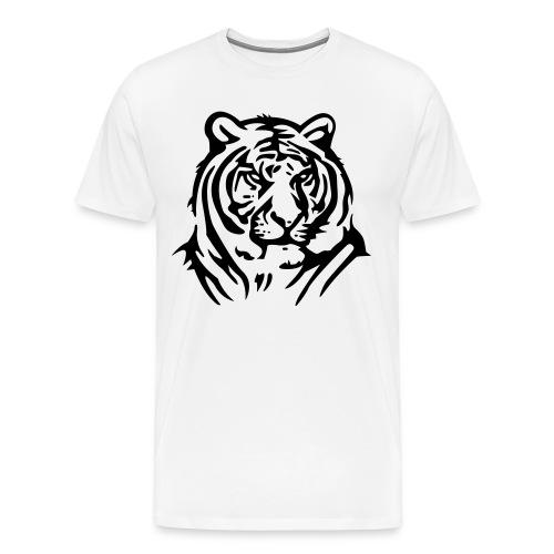 White Tiger T-Shirt - Men's Premium T-Shirt