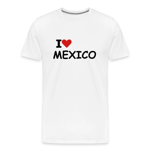 I heart Mexico - Men's Premium T-Shirt