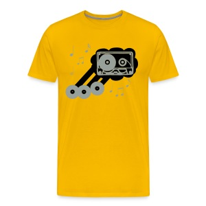 Yellow Rocker - Men's Premium T-Shirt