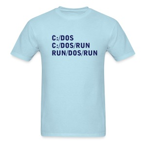 C DOS Run - Men's T-Shirt