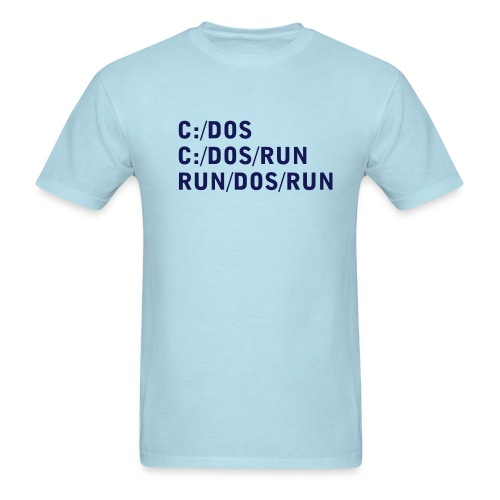 C DOS Run - Men's T-Shirt