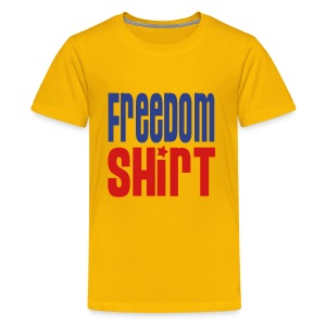 Children's T-Shirt, FREEDOM SHIRT - Kids' Premium T-Shirt