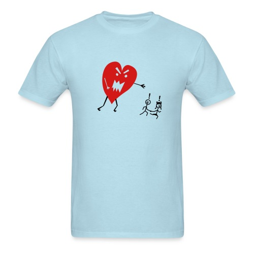 Heart Attack - Men's T-Shirt