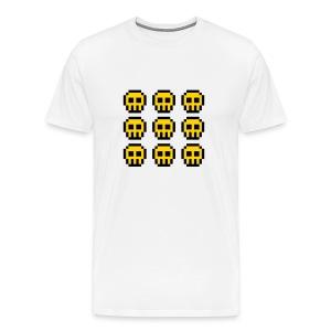 Yellow Skulls - Men's Premium T-Shirt