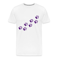 T-Shirts ~ Men's Premium T-Shirt ~ Paw prints