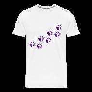 T-Shirts ~ Men's Premium T-Shirt ~ Paw prints