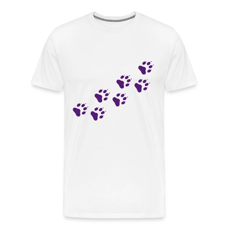 Paw prints - Men's Premium T-Shirt