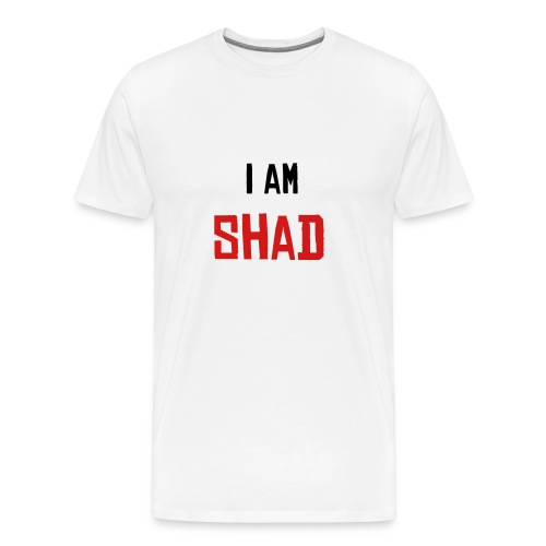 I am Shad White - Men's Premium T-Shirt