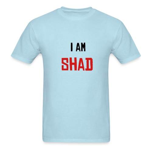 I am Shad Baby-Blue - Men's T-Shirt