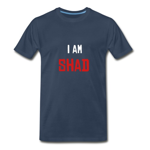 I am Shad Blue - Men's Premium T-Shirt