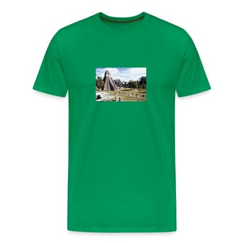 Tikal Maya ruins in Guatemala - Men's Premium T-Shirt