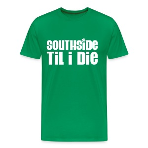 2-sided Southside Pride Green Tee - Men's Premium T-Shirt