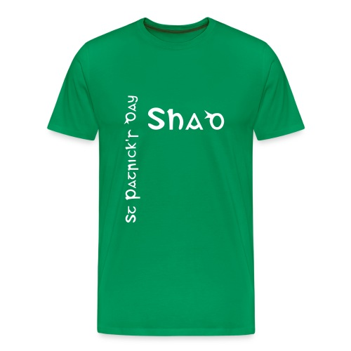 Shad - Saint Patrick's Day (LIMITED EDITION) - Men's Premium T-Shirt