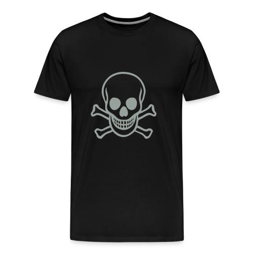 grinning skull - Men's Premium T-Shirt
