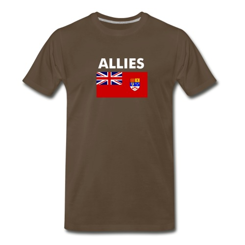 Allied t-shirt Enlisted & NCO - Men's Premium T-Shirt