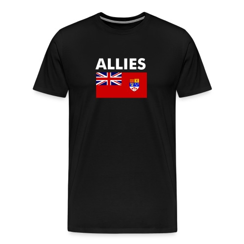 Allied Officer T-shirt - Men's Premium T-Shirt