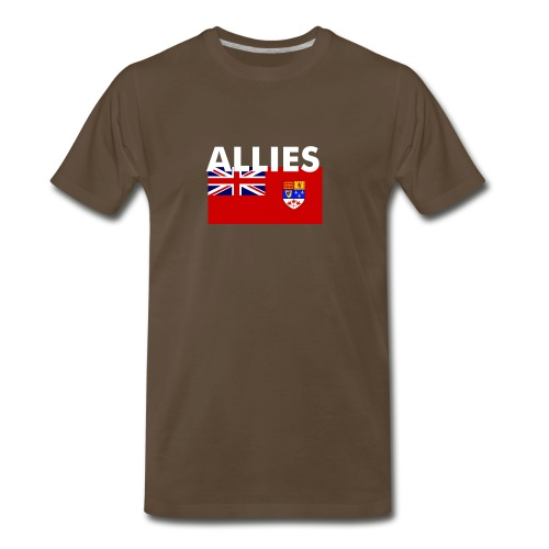 Allied t-shirt Enlisted & NCO (XXXL) - Men's Premium T-Shirt