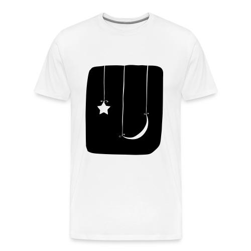 Moon and Star Shirt - Men's Premium T-Shirt