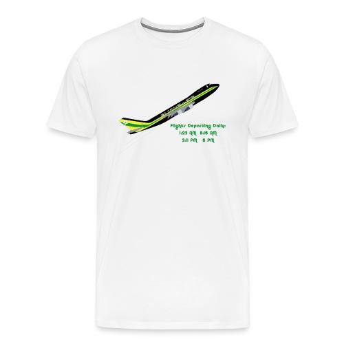 311 Day Flight Times Male - Men's Premium T-Shirt