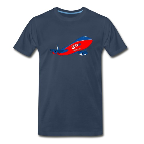 311 Day 08 Jumbo Jet Male - Men's Premium T-Shirt