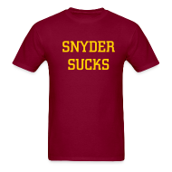 T-Shirts ~ Men's T-Shirt ~ Snyder Sucks