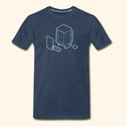 Vectrex1 - Men's Premium T-Shirt