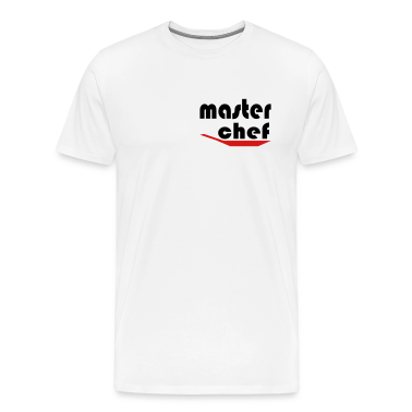 White Master Chef Men