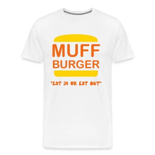 Muff Burger - Men's Premium T-Shirt