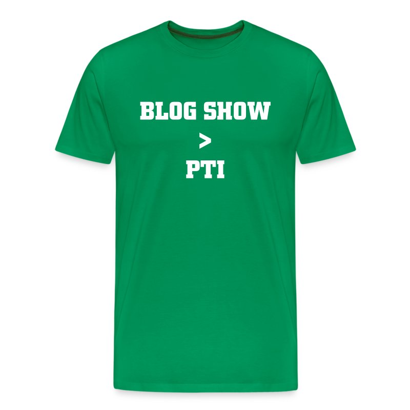 Blog Show  PTI - Men's Premium T-Shirt