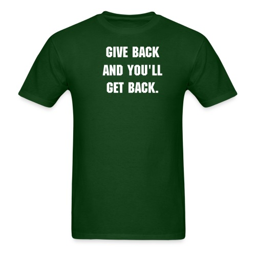 Give back - Men's T-Shirt