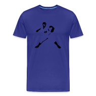 T-Shirts ~ Men's Premium T-Shirt ~ Pedro Tee - Blue