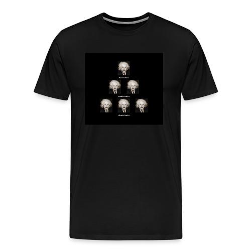 123einstein_black - Men's Premium T-Shirt