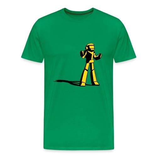 Robot vs. the World - Men's Premium T-Shirt