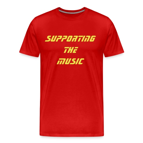 Support the music Shirt - Men's Premium T-Shirt