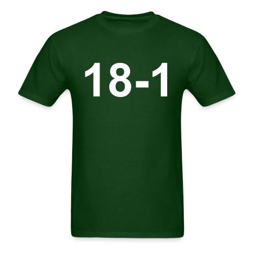 18-1 T-Shirt (Jets Colors) - Men's T-Shirt