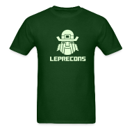 T-Shirts ~ Men's T-Shirt ~ Leprecons- Glow in The Dark