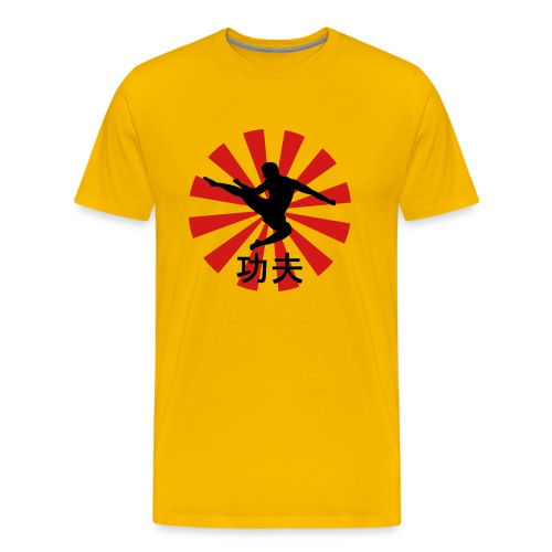 kung fu kick - Men's Premium T-Shirt