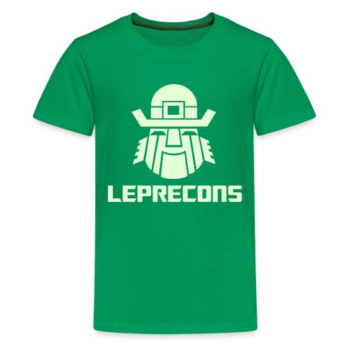 Leprecons- Kids T, Glow in the Dark - Kids' Premium T-Shirt