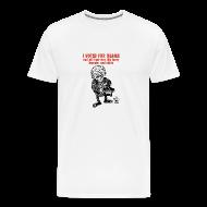 T-Shirts ~ Men's Premium T-Shirt ~ I Voted For Obama