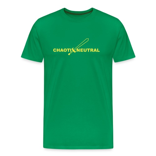 Chaotic Neutral - Men's Premium T-Shirt